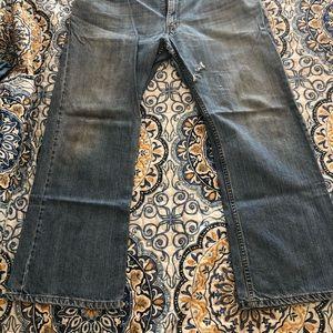 Levi 527 Low Bootcut Jeans 38x30